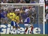 1998, Les 3 buts de la finale France-Brésil