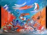 Tableaux artiste peintre contemporain ame sauvage