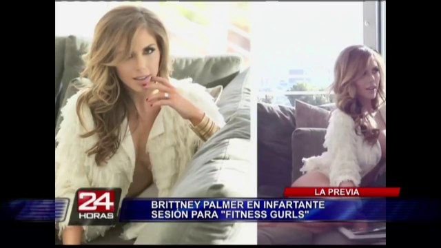 Brittney Palmer, la chica del ring de la MMA que se derrite por David Beckham