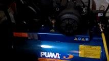Máy nén khí Taiwan công suất 20HP, Máy nén khí Puma áp lực khí nén 8 kg/cm2