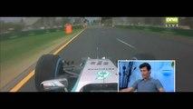 Lewis Hamilton Q3 Pole Position Lap Australian Grand Prix 2014