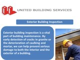 United Building Services window cleaning services