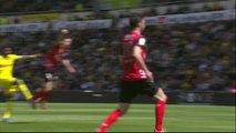 But Serge GAKPE (4ème) - FC Nantes - EA Guingamp - (1-0) - 13/04/14 - (FCN-EAG)
