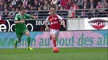 But Franck SIGNORINO (50ème) - Stade de Reims - AS Saint-Etienne - (2-2) - 13/04/14 - (SdR-ASSE)