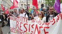Syriza Paris à la grande manif du 12 Avril contre l'austérité