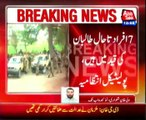 7 kidnaped people are still in taliban custody, PA