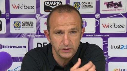 Istres - Caen 2-3 Réaction de Frédéric Arpinon