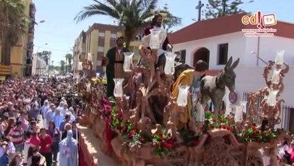 Semana Santa El Puerto 2014 Borriquita