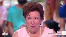 """""""Le grand 8"""" : pour Pâques, Roselyne Bachelot mange des chocolats très sexy"""