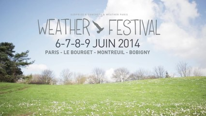 Weather Festival 2014 - 3 Venues / 100 Artists