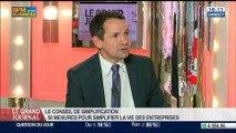 Thierry Mandon et Guillaume Poitrinal, co-présidents du Conseil de simplification, dans Le Grand Journal - 14/04 1/4