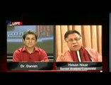 Hassan Nisar with Dr Danish programe Sawal ye hi_clip5