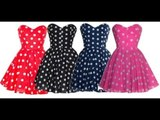 1950s Style Dress vintage Inspired Rockabilly Pin-up Dresses