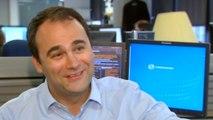 Reuters journalist Jason Szep celebrates Pulitzer Prize