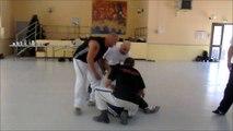 Explication d'un KO croisé de Kyusho-Jitsu par Jean-Paul BINDEL, 9ème dan, hanshi