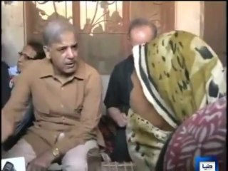 CM Shahbaz visits Sahiwal rape victim's family, scolds police officers
