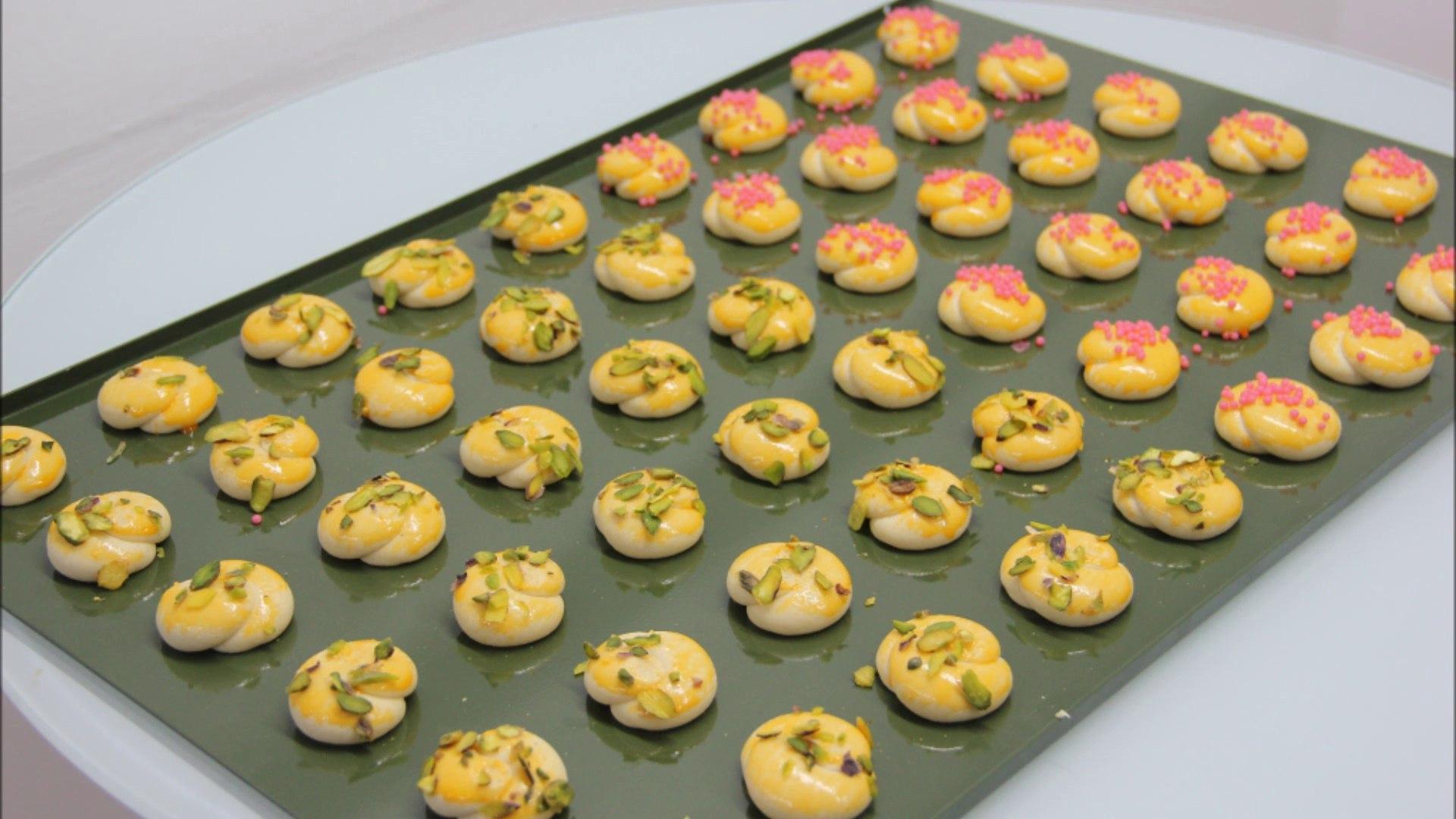 TMAK MAKINA - Örgü Kurabiye - Mesh Cookies