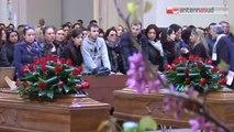 TG 14.04.14 Bitonto: grande commozione ai funerali di Nicola ed Enzo Rizzi