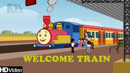 Welcome Train - Summer Special Children Song & Nursery Rhymes | #PlayNurseryRhymes