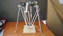 DELTA ROBOT ile delik delme uygulaması (Altaş Yayıncılık ve Elektronik)