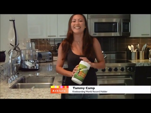 Athletic Greens Review with Kiteboard World Record Holder Tammy Camp