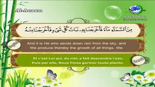 سورة الأنعام القارئ سعد الغامدي - Surat Al-Anam Saad el