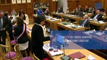 Vidéo Puteaux: Installation du Conseil municipal