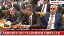 Kılıçdaroğlu: Hitler ve Mussolini de Seçimle Geldi