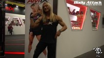 KATKA KYPTOVA - 2014 INTERVIEW AND POSING (HD)  - Female Bodybuilding/Muscle/Fitness
