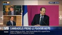 Le Soir BFM: Jean-Christophe Cambadélis officiellement élu premier secrétaire du PS - 15/04 1/4