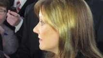 GM CEO MARY BARRA IN  NYC REPORTER SCRUM NewCarNews.TV Bob Giles was there