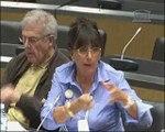 Audition de Mme Nelly Ameaume, présidente de l'association des victimes du vaccin « hépatite B » (REVAHB), M. Daniel Debetz et Mme HuguetteThomas, membres du conseil d'administration, et Mme Régine Giannetti - Jeudi 7 Avril 2011