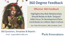 360 Degree Feedback Questionnaire Design | Sample 360 Degree Question Template - Customized, Tailored 360 Degree Feedback + DIY Options