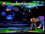 street fighter alpha 3 - ryu combo movie