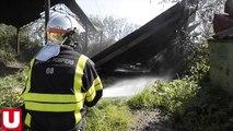 Ardennes. Un hangar prend feu à Signy-le-Petit