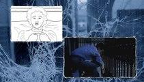 Tras el Cristal. Comparacion De Escenas Con Storyboard