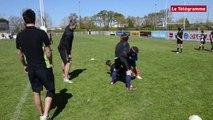 Vannes. RCV : les joueurs Pro D2  entrainent les jeunes recrues