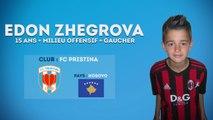 Edon Zhegrova, ce jeune talent brut du Kosovo