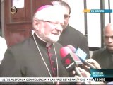 Nuncio apostólico para Venezuela: Deseo paz y luz para toda Venezuela