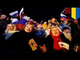 Crimea conflict: Crimea votes to break from Ukraine and join Russia