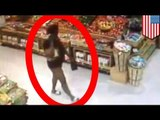 CCTV Footage: Pantless woman steals boxed wine from Publix in Ocala, Florida
