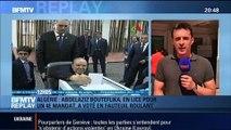 BFMTV Replay: Slaviansk: Des chars ukrainiens immobilisés par les séparatistes pro-russes - 17/04
