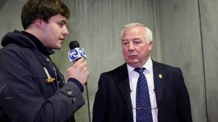France-Slovaquie : La réaction de Dave Henderson, coach de l'équipe de France