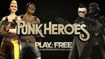 Battlefield Heroes Punk Heroes Trailer
