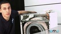 Rozkręcanie obudowy pralki - wymiana, naprawa. Części zamienne do AGD i RTV.