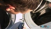 Szyba drzwiczek w pralce - wymiana, naprawa. Części zamienne do AGD i RTV.