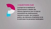 [Questions sur] Le projet de loi sur l'accessibilité pour les personnes handicapées
