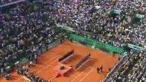 Tennis - Roland Garros 1999 : Les pleurs de Martina Hingis