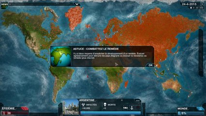 Plague Inc : Evolved - FANTATTAX DANS TON CERVEAU !!!