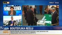 BFM Story: Algérie: Abdelaziz Bouteflika, réélu pour un quatrième mandat - 18/04
